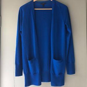 J. Crew Merino Wool button Front Cardigan Size S